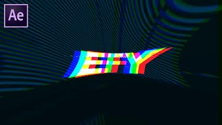 Glitch Logo Reveal in After Effects | After Effects Tutorial | Effect For You