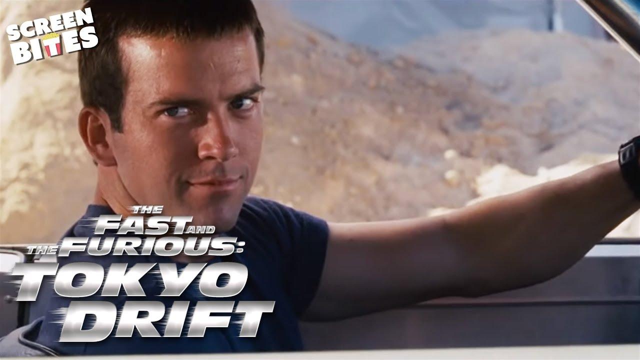 The Fast and the Furious Tokyo Drift Sean vs DK Juniors and Women Black Shirts