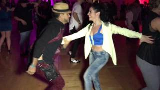 Grizzly Hidriago & Amy Codebo Salsa Dance @ Seattle Salsa Congress 2016