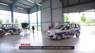 [DIRECT AUTO, C8] Camions de pompiers : les secrets de fabrication !