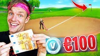 €100 V-BUCKS ALS JE DIT RAAKT!! - Fortnite #103