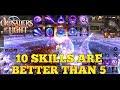 Crusaders Of Light - 10 Skills Test (New Update)