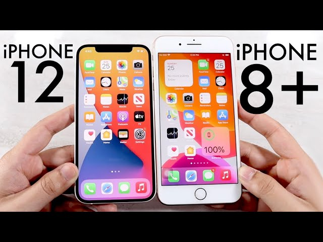 Iphone 12 Vs Iphone 8 Plus Comparison Review Youtube