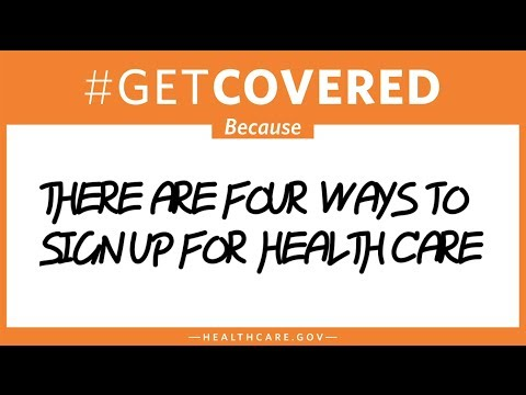 #GetCovered: Because There Are Four Ways To Sign Up For Health Care