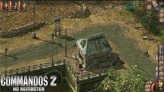 COMMANDOS 2 HD REMASTERED (PC) - Gameplay en Español