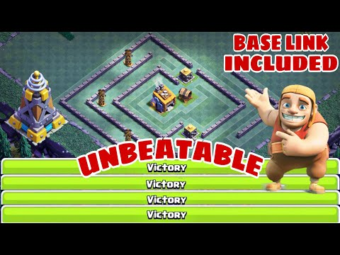 NEW BEST BH8 BASE 2019 W/PROOF | BH8 BEST TRAP BASE - Clash Of Clans