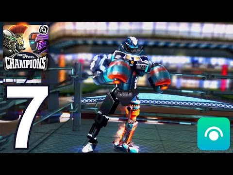 Real Steel Robot Boxing Champions - Gameplay Walkthrough Part 7 - Region 4 (iOS, Android)