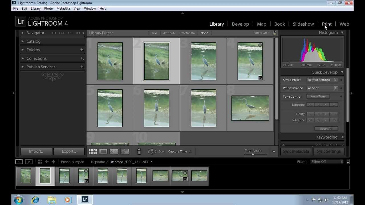 How To Save Lightroom Contact Sheet