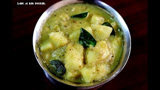 Coconut milk potato curry .!