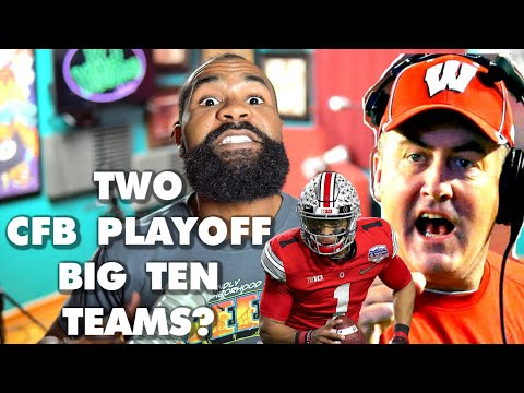 Two Big Ten Teams? Ohio State And Wisconsin Projected To Make 2021 CFB Playoff