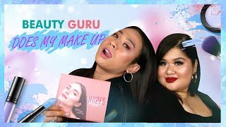 NEW AND IMPROVED #BeautyGuruDoesMyMakeUp || Jovi Hunter ft @Ollenflorence