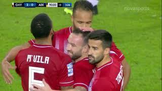 Ολυμπιακός-ΑΕΚ: 3-0 (hls)