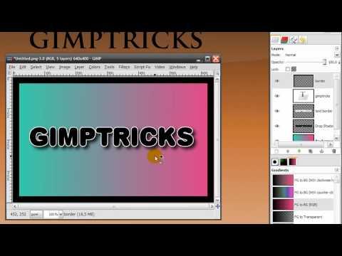 gimp basics and beginner tutorials youtube