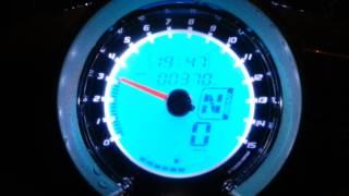Digital Meter UMA RACING v2 Yamaha LC135 ES clutch