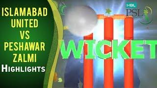 Match 3: Islamabad United vs Peshawar Zalmi - Highlights