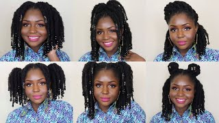 How to style loose twists