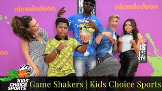 Game Shakers | The last of Kids Choice Sports 2017✨