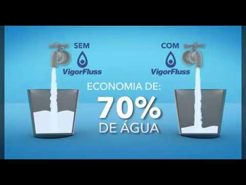 Vigorfluss - Brasilia Solar- Redução de água