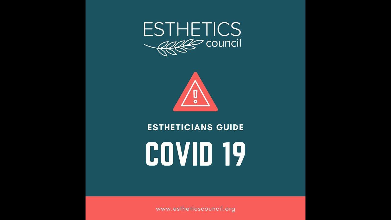 Estheticians Guide-COVID 19