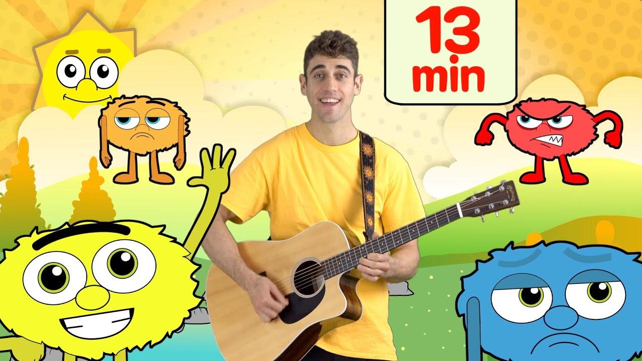 Colors, Shapes & More Kids Songs! | Adam Tree TV
