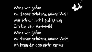Marlon Roudette - Anti Hero (Deutsche Übersetzung)