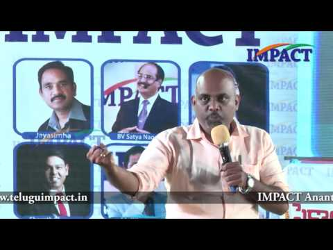 Thought as Investment by Srikanth Kondapally at IMPACT Hyderabad 2016