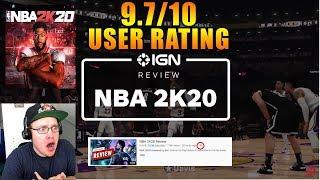 Reacting to NBA 2K20 Review