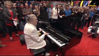 Jerry Lee Lewis Motorcycle Sells for $350,000 - Mecum Kissimmee 2015