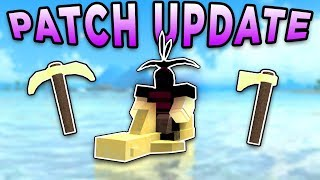 *NEW* GOD TOOLS, THE VOID, AND MORE FIXED! (ROBLOX BOOGA BOOGA)