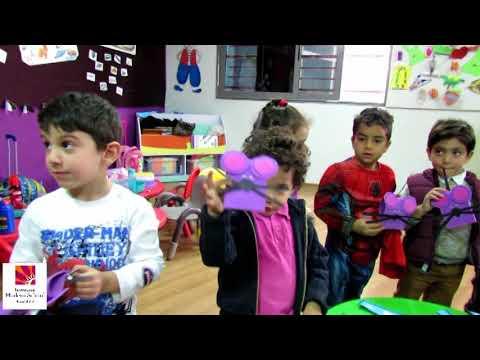Letters Activity in Kindergarten, at International Modern School Sayed Galal, Cairo, Egypt