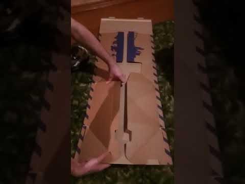 Как собрать коробку почта России (размер L)