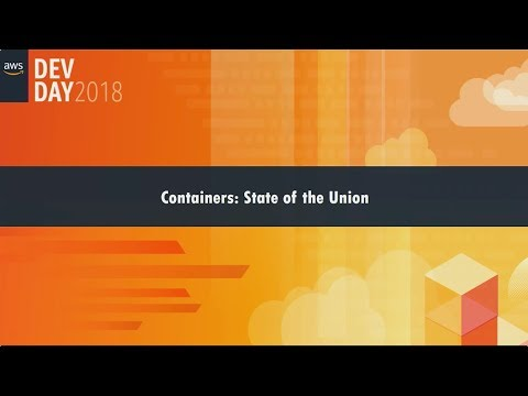 Containers: State of the Union