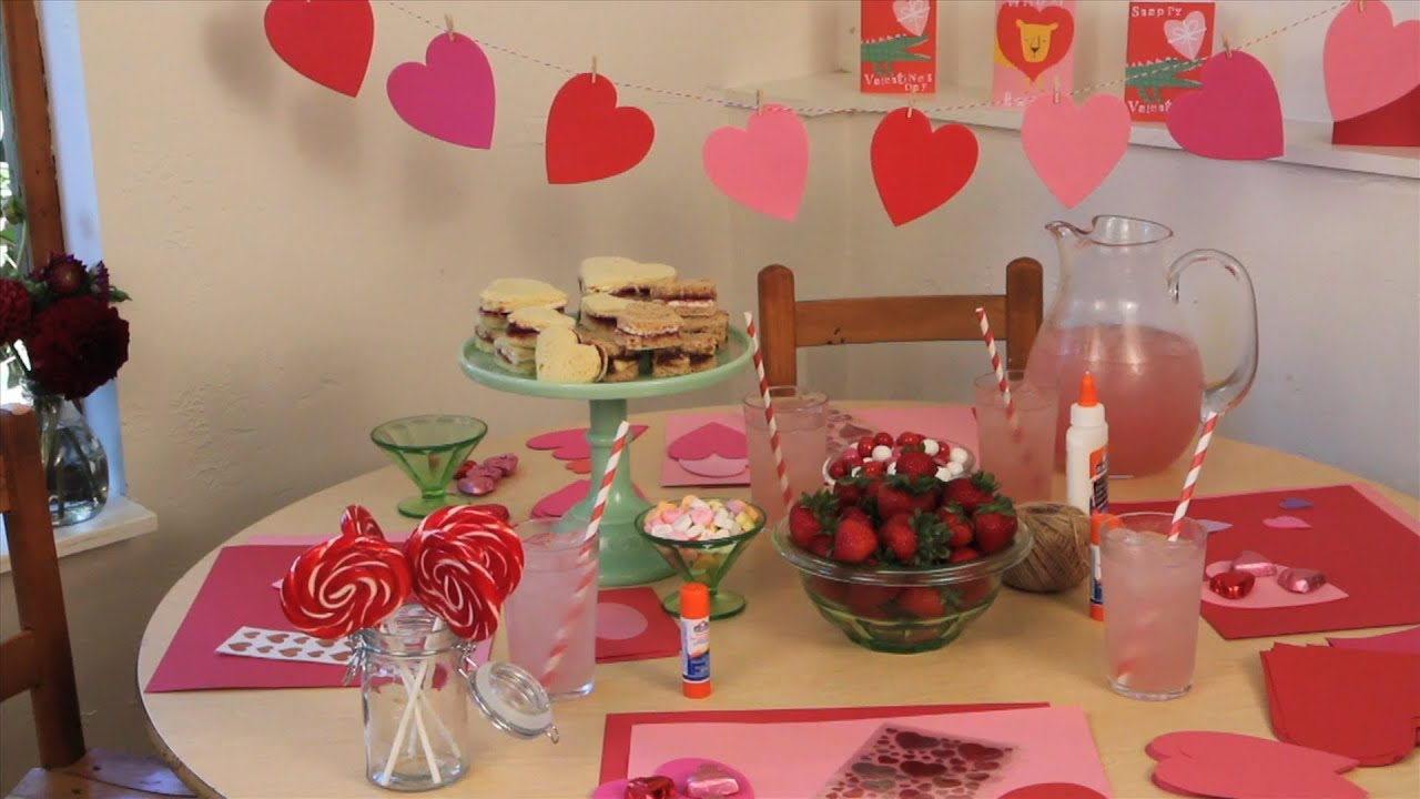 How To Host A Valentine S Day Party Valentine S Day Sweet