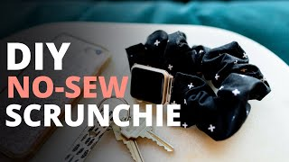 Make This DIY Scrunchie Apple Watch Band