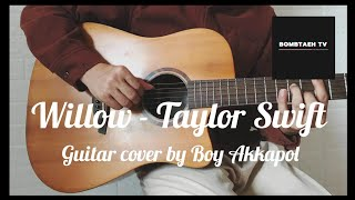 Willow - taylor swift guitar cover by akkapol boy