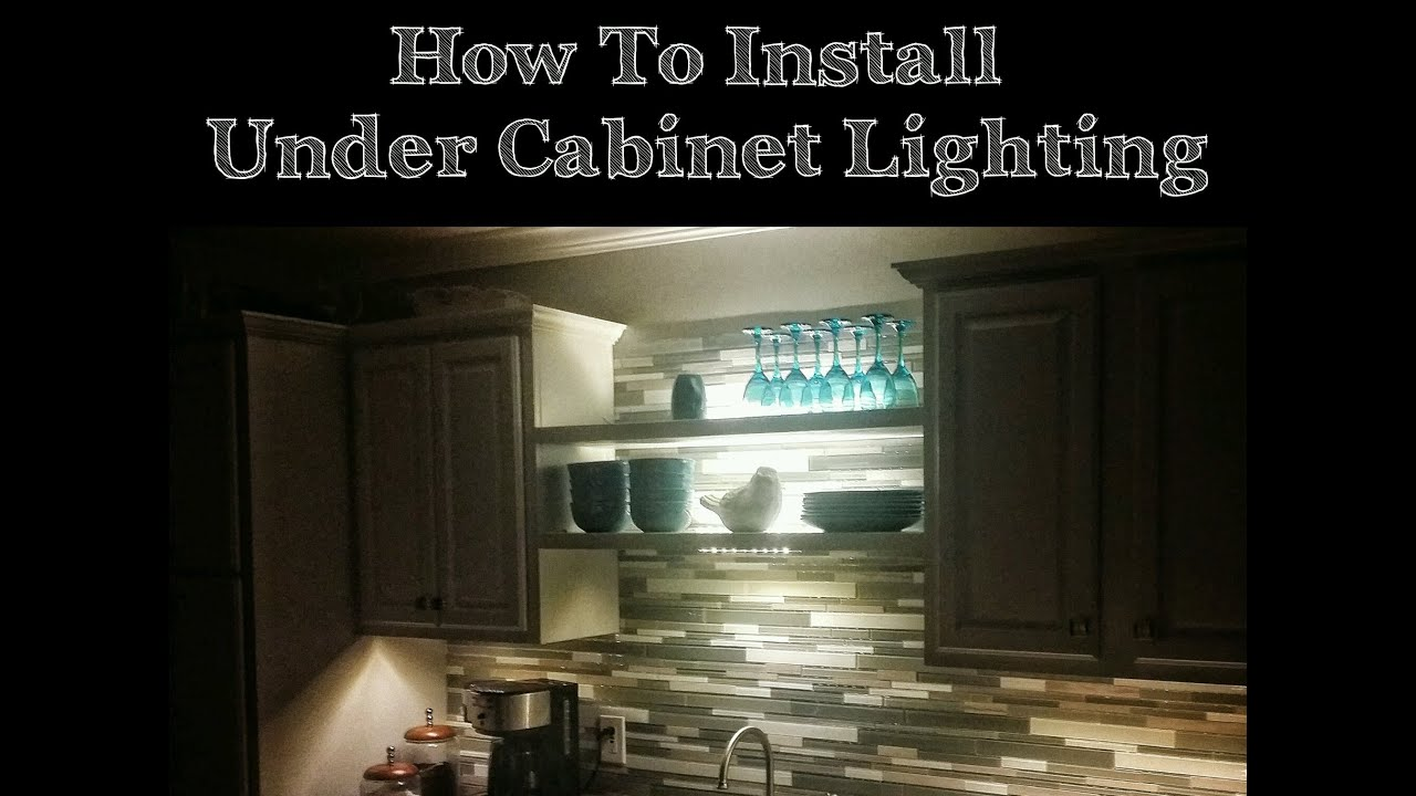 How To Install Under Cabinet Led Lights From Ikea Our House Diy