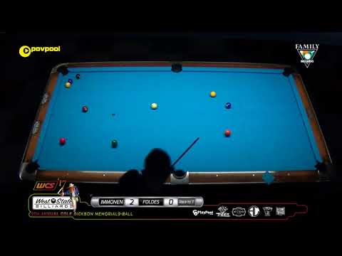 #10 • Mika IMMONEN vs Vilmos FOLDES / 2017 Cole Dickson 9-Ball
