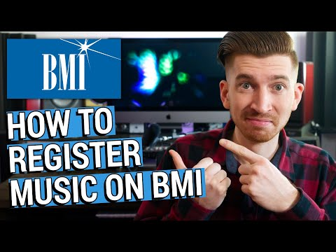 How To Register Songs with BMI and Get Your Royalties! PRO Walkthrough (2018)