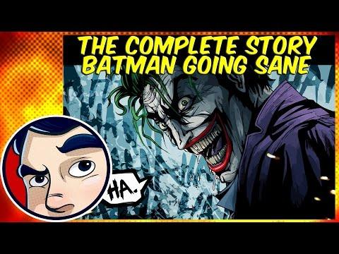 """Batman """"Joker Going Sane"""" - Complete Story"""