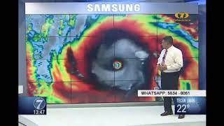 Pronostican lluvias por tormenta Leslie