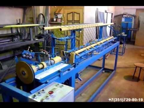 Станок для производства сетки рабица АСУ-174
