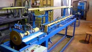 Станок для производства сетки рабица АСУ-174(http://masterstan.ru Станок автомат для плетения сетки рабица от производителя. Данное оборудование позволяет нача..., 2011-07-11T22:20:23.000Z)