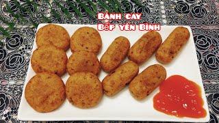 Gambar cover Bánh cay, bánh khoai mỳ chiên cay ( bánh sắn )Bếp Yên Bình.