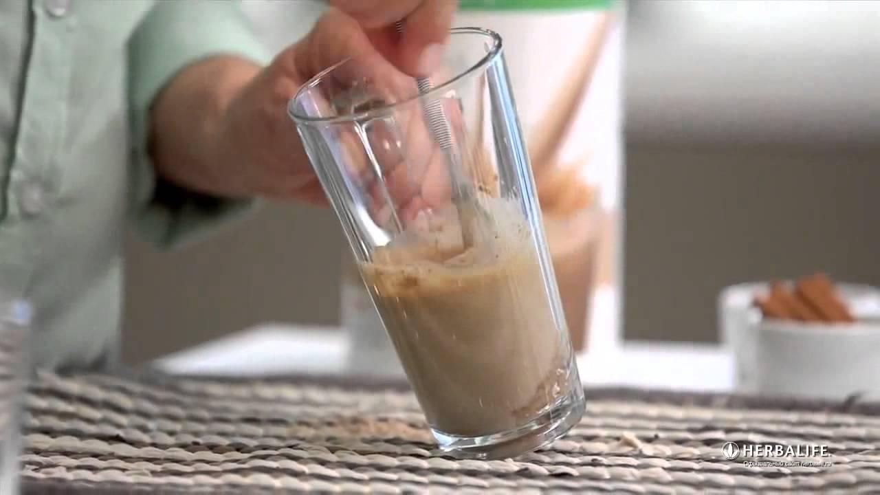 как приготовить коктейль гербалайф видео