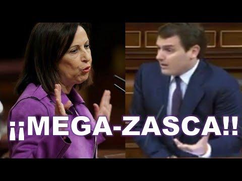 "El MEGA-ZASCA de Albert RIVERA que ""DEJÓ MUDA"" a Margarita ROBLES en el Congreso"