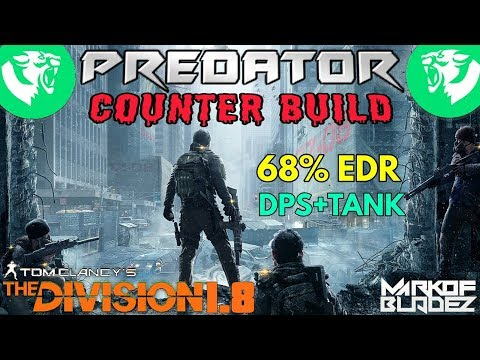 The Division 1.8 BEST BLEED COUNTER BUILD 68% EDR DPS BUILD
