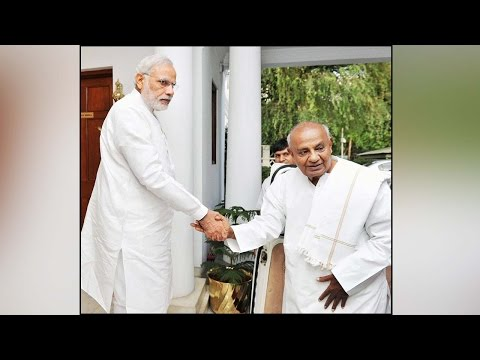 PM Modi exposed the despicable culture of Lutyen's Delhi says Deve Gowda | Oneindia News
