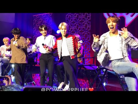 200127 - FANCAM - BTS @ iHEART - Chicken Noodle Soup