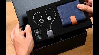 Unbox Fiio FD7 - Tai nghe in-ear đầu bảng của Fiio, dùng 1 driver dynamic berylium, 50 ohms, 111dB