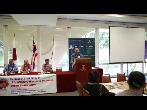 HAWAII: Uchinanchu Conference - Gen. Simcock discusses bases in Okinawa. (July 24, 2016).